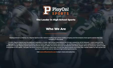 PlayOn!スポーツがVC会社BIPキャピタルが主導する2,500万ドルのシリーズB資金調達ラウンドへ